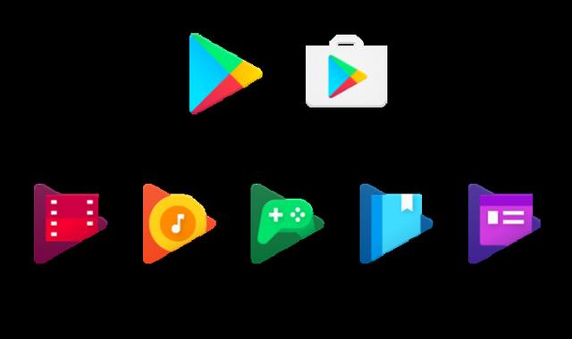 Új Google Play ikonok