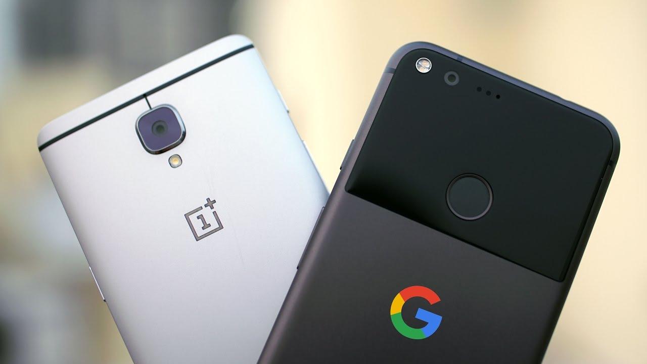 Google Pixel XL és OnePlus 3T kamera teszt
