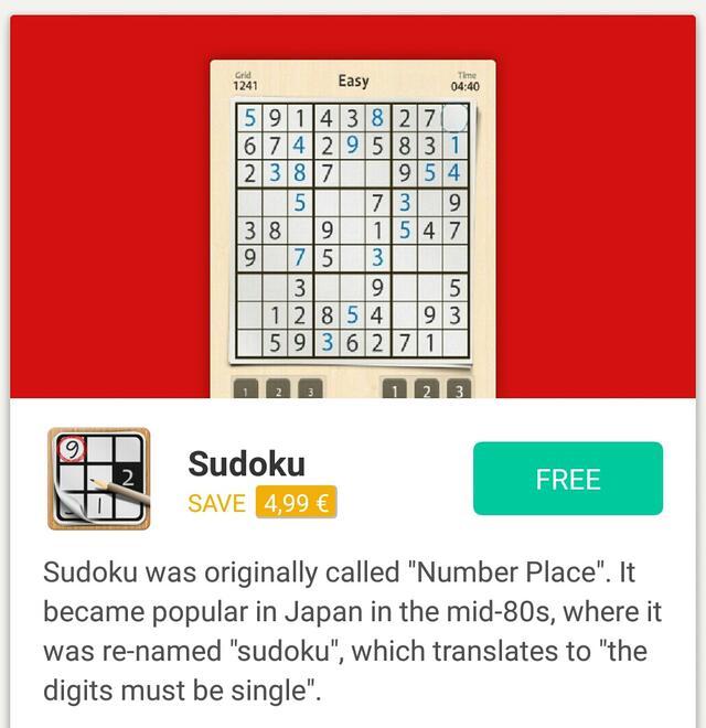 Green Panda Games Sudoku