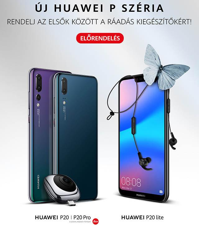 Elorendeles, Huawei P20